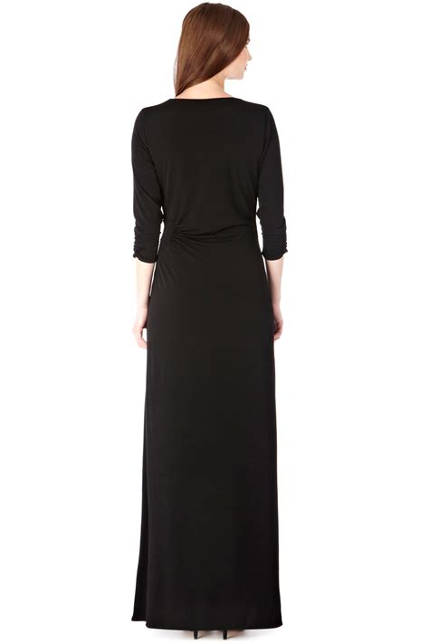 Alexi Dress coast alexi jersey maxi dress in black lyst