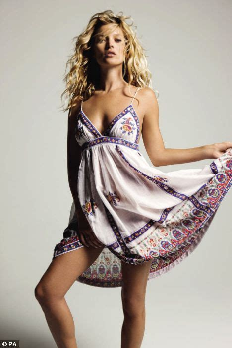 Kate Moss Gets For Donna Karans 2008 Caign by Get The Moss Look Kate S Boho Styled Summer Collection
