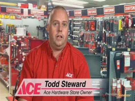 ace hardware owner franchisee testimonial from an ace hardware store owner