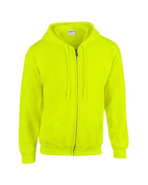 Gildan Jaket gildan plain new mens zip up hoody fleece heavy blend