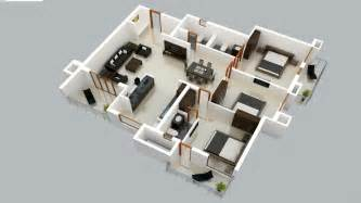 3d Exterior Home Design Software Free Online Medium Flat 3d Floor Plan Pictures To Pin On Pinterest