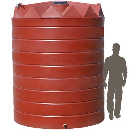 litre premium flat walled poly water tank coerco