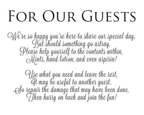 poem for wedding bathroom basket diy wedding the newlyweds cookbook