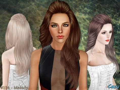 hair download the sims 3 free cazy s melody hairstyle set