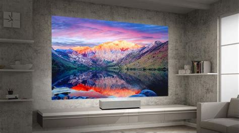 lg introduces hula  ultra short throw laser projector