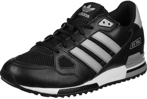 adidas zx 750 shoes black grey