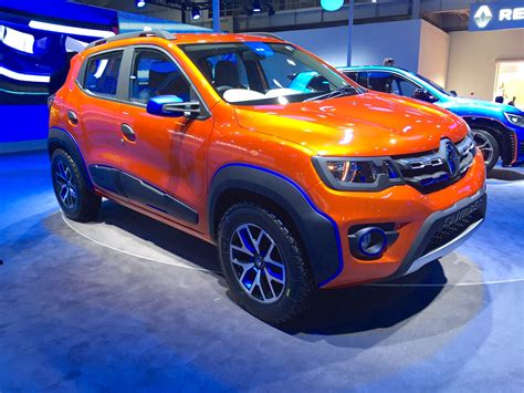 renault climber renault kwid climber front three quarters at auto expo