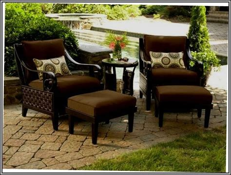 lazy boy wicker patio furniture 1000 ideas about replacement cushions on