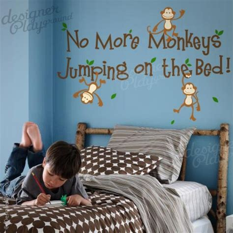 no more monkeys jumping on the bed no more monkeys jumping on the bed