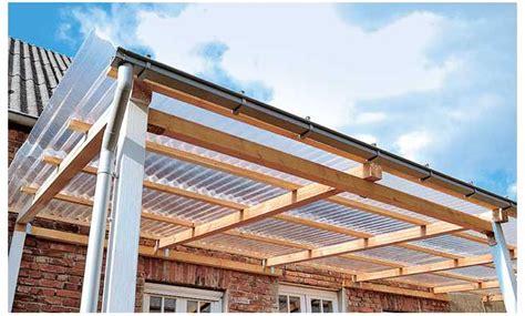 terrassenueberdachung selber bauen selbstde