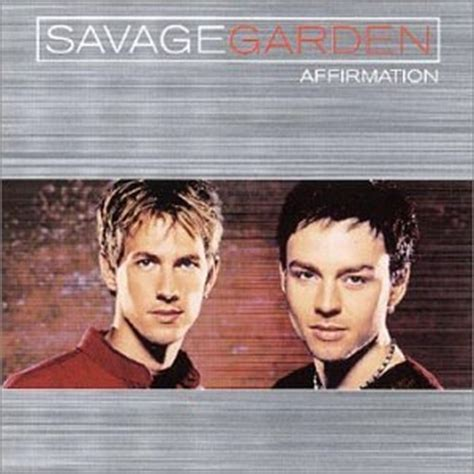 savage garden affirmation cd covers