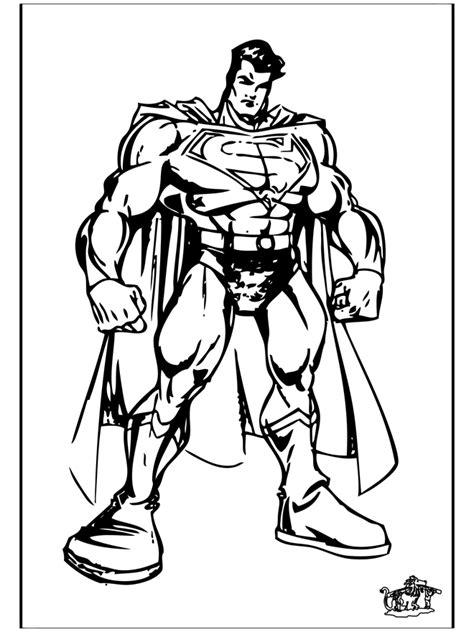 Superman 4 - Andre fargeleggingstegninger