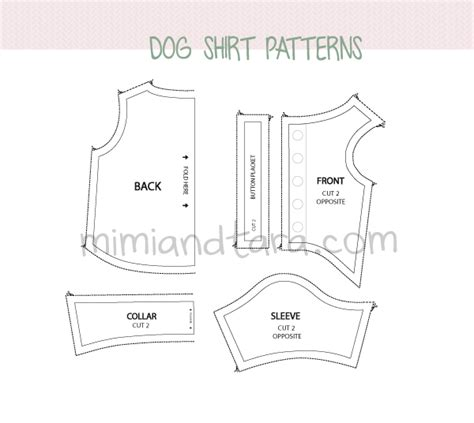 free pattern chihuahua clothes dog shirt patterns mimi tara free dog clothes patterns