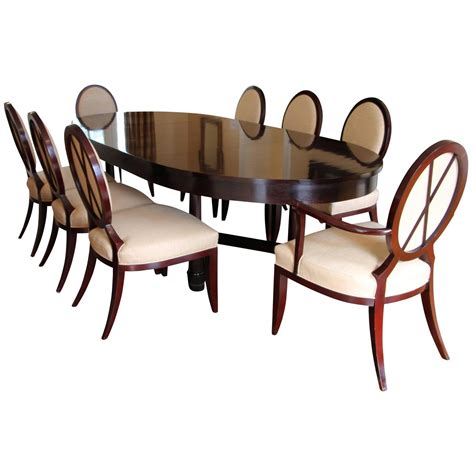 baker dining room chairs dining table with x back dining chairs by barbara barry