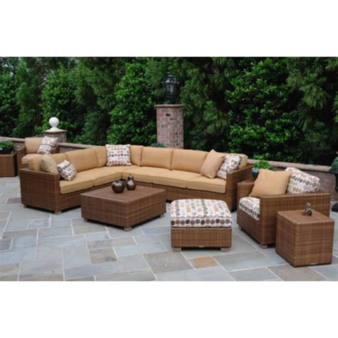 whitecraft outdoor furniture whitecraft sedona outdoor furniture set and sectional
