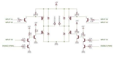 mosfet arduino resistor arduino mosfet h bridge design question electrical engineering stack exchange
