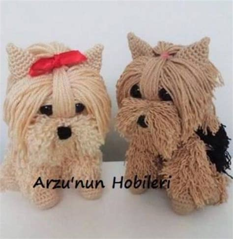 yorkies free free crochet yorkie pattern with the whoot