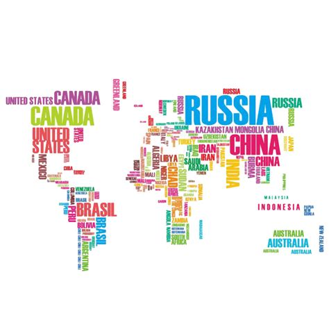 Wall Sticker World Map aliexpress com buy colorful letters world map wall