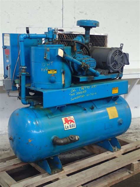 leroi a25ss air compressor 25 hp 05160340003
