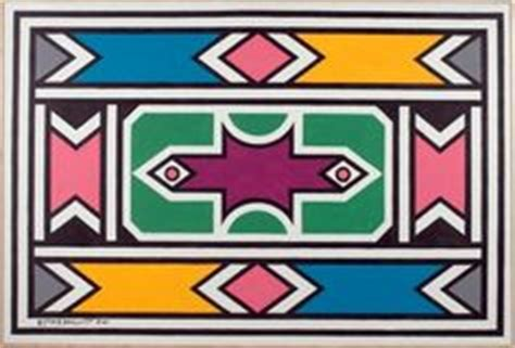 ndebele pattern vector the ndebele influence going global sealy blog