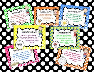 printable contraction poster fun for first contractions anchor chart freebie