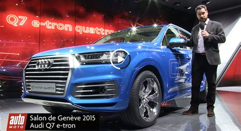 Bmw 1er Plug In Hybrid by Audi Q7 E Tron 1er Suv Diesel Plug In Hybrid Vid 233 O Gen 232 Ve