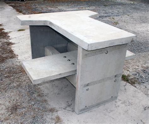 concrete shooting bench shooting tables architectural photo gallery