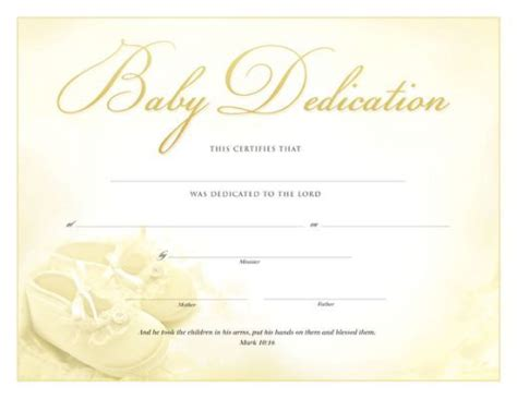 baby dedication card template printable baby dedication certificate baby dedication