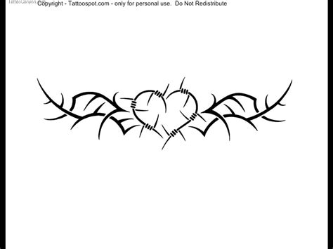 barbed wire heart tattoo designs barbed wire images designs