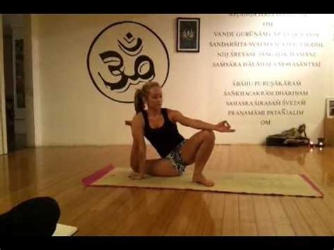 kino macgregor yoga demo sep 2011 hong kong youtube