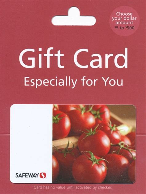 Safeway Gift Cards List - safeway just for u 100 gift card couponizer prize pack giveaway momstart