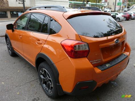 subaru orange crosstrek tangerine orange pearl 2014 subaru crosstrek 2 0i
