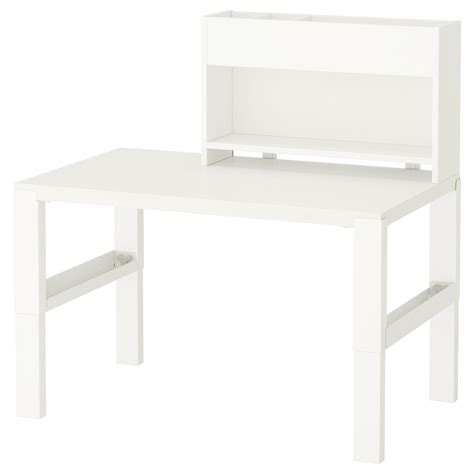 P 197 Hl Desk With Add On Unit White 96x58 Cm Ikea Desk Ikea White