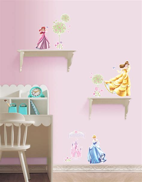 princess castle wall sticker disney princess castle wall stickers for