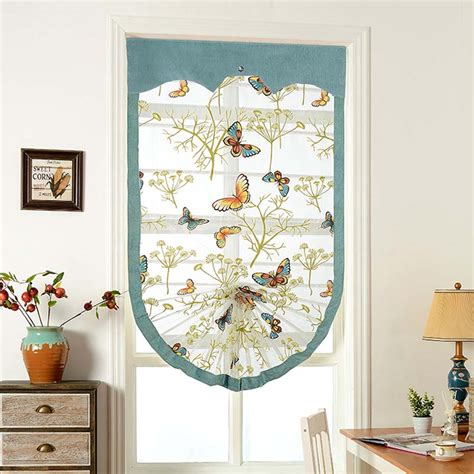 butterfly kitchen curtains high quality butterfly roman blackout blinds curtains for
