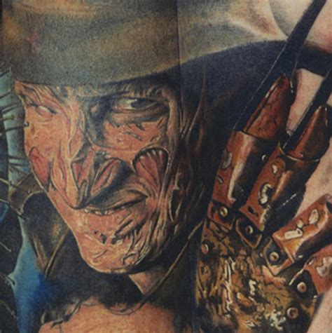 divine tattoo freddy krueger by cudney tattoonow
