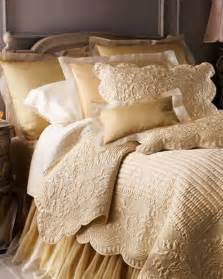 Matelasse Coverlet White Gold And Cream Bedding Bedroom Spaces Pinterest