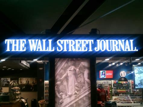 wall street journal business section wsj unveils new section name other changes talking biz news