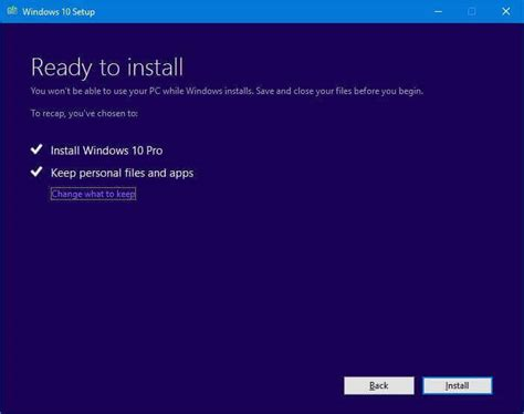install windows 10 media how to get the windows 10 creators update on your pc