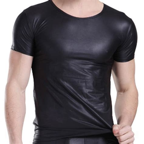 T Shirt Kaos Overwatch 2017 2015 leather shirts black faux