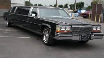 Cadillac Limos 1987 Cadillac Brougham De Elegance Limo Limousine For Sale