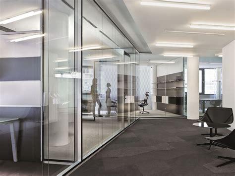 office de glass office partition rf corridor wall by bene design