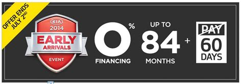 Kia 0 Percent Financing 0 Financing Ends July 2 2013 At West Coast Kia