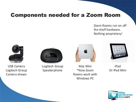 the zoom room logitech zoom room conference bundle by videoconferencege
