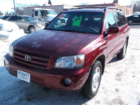 car owners manuals for sale 2006 toyota highlander seat position control 2006 toyota highlander limited budget auto sales service jamestown nd