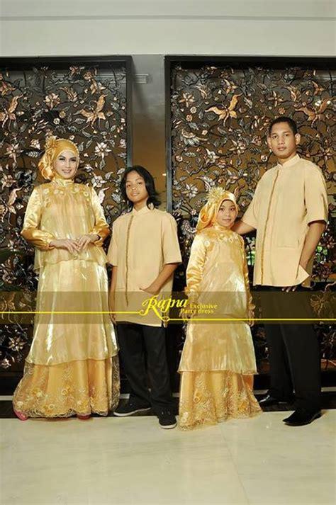 pusat busana gaun pesta muslim modern 187 sarimbit rj 12 gold