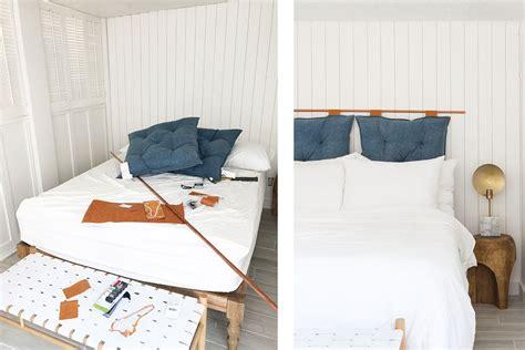 pillow headboard bedroom set bedroom stunning diy headboard 28 fin copper pipe pillow