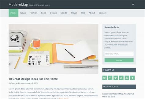 37 simple wordpress themes you should try