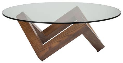 como brown clear glass coffee table hgyu164 nuevo