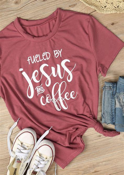 fueled  jesus  coffee  shirt fairyseason